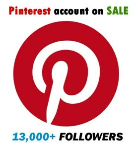 Pinterest Account Are 13 000 Followers