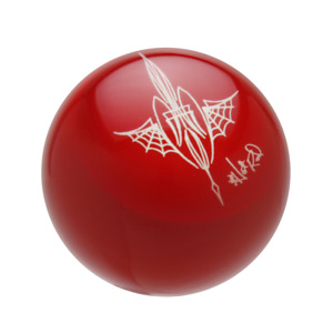 Speed Dawg Red Von Hot Rod Pinstriped Spider Web Shift Knob Sk504vsw Ps