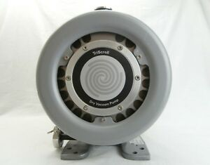 Varian E31001230iis Dry Vacuum Pump Triscroll Franklin 1201006408 Tested As is