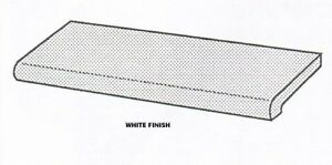 Store Display Fixtures 4 White Bull Nose Display Shelves 48 Long X 13 Wide