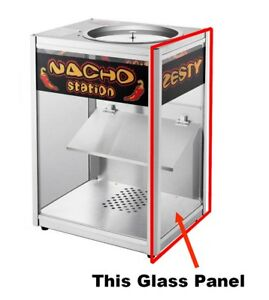 Replacement Glass Side Panel For Nacho Station Warmer Cabinet Great Northern
