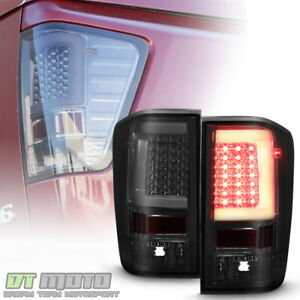 New Style Led Light Tube Smoke Tail Lights Lamps For 2004 2015 Titan 5 6l Truck