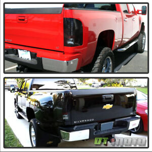 Extreme Dark 2007 2013 Chevy Silverado 1500 2500 35000hd Lumiled Led Tail Lights