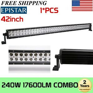 50 inch 288w Led Work Light Bar Combo Truck Offroad Atv Suv Boat 52 300w Gmc