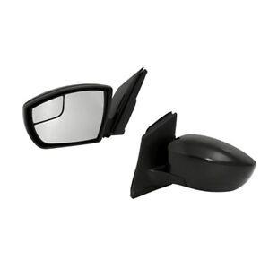 Fits 2013 2016 Ford Escape Left Hand Driver Side Power Mirror Paint To Match