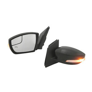Fits 2013 2016 Ford Escape Power Mirror W Heat Memory Left Hand Driver Side