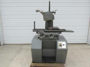 Harig Super 612 Hand Feed Surface Grinder 6 X 12 Magnetic Chuck 1 Hp 3 Ph