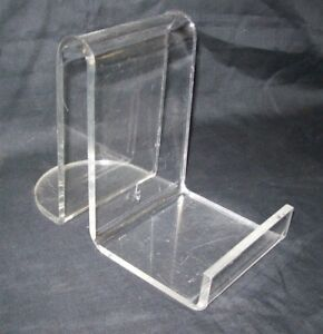 Store Display Fixtures 10 New Heavy Duty Acrylic 1 4 Easels 6 Tall
