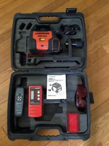 Cst Lasermark Self leveling Rotary Laser Lm800 W Remote Receiver Manual Etc
