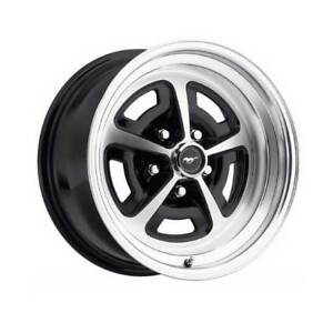 Legendary Magnum 500 Wheel Gloss Black 15 X 7 5 lug 65 73 Mustang