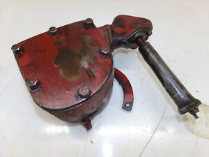 Farmall H Tractor Governor