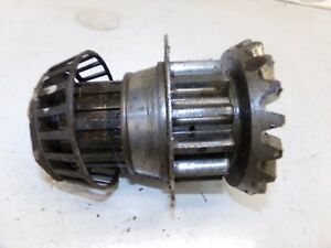 Oliver 70 Tractor Bull Pinion Shaft