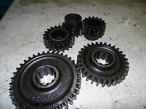 Oliver Super 77 Diesel Tractor Rear End Gears