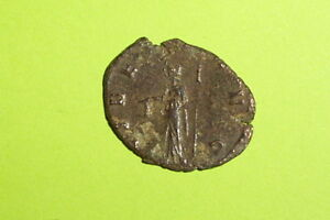 Claudius Ii Gothicus 268 Ad Ancient Roman Coin Libertas Pileus Scepter Money G