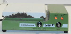 Sybron Thermolyne Nuova 7 Ceramic Top Hot Plate And Magnetic Stirrer Sp18425
