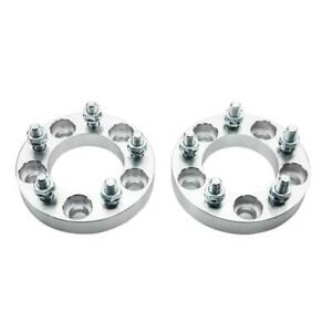 2 1 Inch Wheel Spacers 5x4 5 For Ford Lincoln Mercury Jeep 1 2 Studs