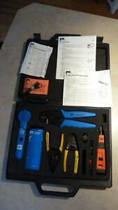 Ideal Lot Kit Case Hand Tools Test Quip Usa Made 62 120 62 104 Crimpmaster