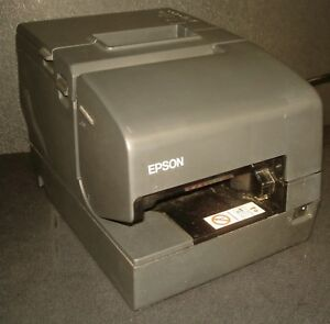 Epson Tm h6000iv M253a Pos Receipt Printer W Serial Usb Interface