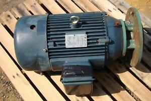 Century Electric Motor 20 Hp 1772 Rpm 208 230 460v Cpe45
