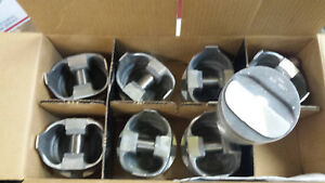 L2304f Trw Forged Pistons 350 Chevy Dome Standard Bore Set Of 8