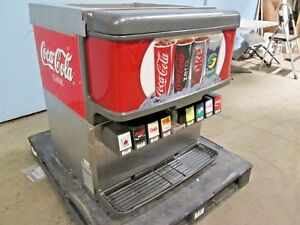cornelius Df200 bc Hd Commercial Lighted 8 Heads Soda Fountain W ice Dispenser