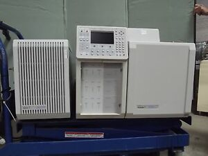 Varian Cp 3800 Gas Chromatograph W saturn 2000 Ion Trap power Up M1318 10118