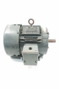 Lincoln Motors Ctac Ac Motor 182t 3ph 0 75kw 690rpm 1 1 8in 230 460v ac