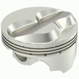 Icon Pistons Ic970 060 Small Block Chevy 383 Solid Dome 2v 60 Over 4 060 Bore