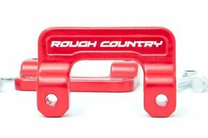 Rough Country 2 Level Kit Fits 07 18 Silverado Sierra 07 20 Suburban Yukon red