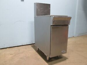 dcs Heavy Duty Commercial S s Natural Gas 35 40 Deep Fryer