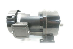 New Dayton 4z392b Gearmotor 3ph 1 2hp 208 230 460v ac