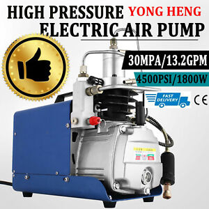 Yong Heng 30mpa Air Compressor Pump 110v Pcp Electric 4500psi High Pressure Usa
