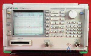 Anritsu Ms2670a Spectrum Analyzer 100hz To 1 8ghz
