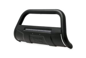 Rough Country Led Bull Bar Bumper Guard black Fits 05 18 Frontier B n4150