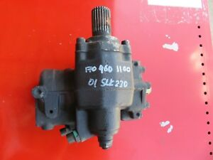 01 04 Mercedes Benz R170 Slk230 Power Steering Gear Box Oem