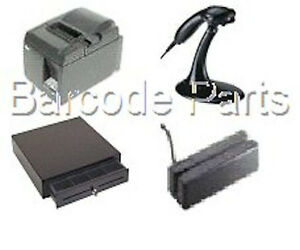 Quickbooks Pos 18 0 Star Hardware Bundle 6 Printer Scanner drawer Mag Stripe