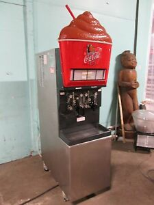 taylor 346 27 Commercial Hd 2 Barrels Carbonated Slushy Machine Lighted Prop