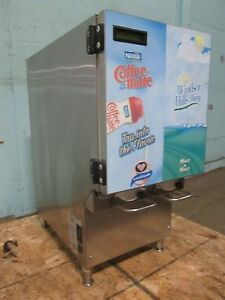 kan pak Cdg211 Commercial Refrigerated 2 Flavors Coffee Creamer Dispenser