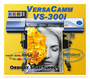 Roland Versacamm Vs 300i 30 Printer cutter Refurbished