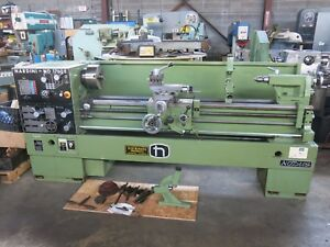 Nardini 17x60 Gap Bed Lathe Well Tooled Great Condition