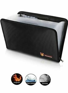 Fireproof File Folder Expanding File Folder File Organizer Fire And Water