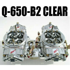 Quick Fuel Q 650 B2 Cfm Gas Supercharger Blower Clear Carbs