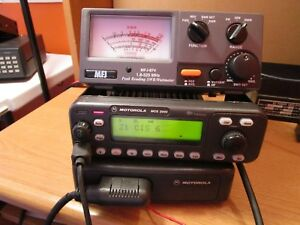 Motorola Mcs2000 146 174 Mhz Vhf 110w Radio M01klm9pw6an 160 Chan Narrow Band