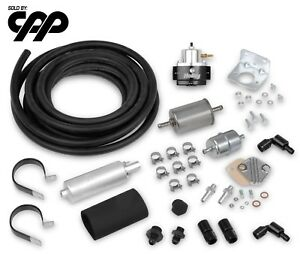Holley 526 3 Fuel System In Line Fuel Pump Conversion Kit