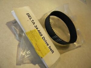 Delta 34 669 Drive Belt Nos For The Delta Saws See List For App