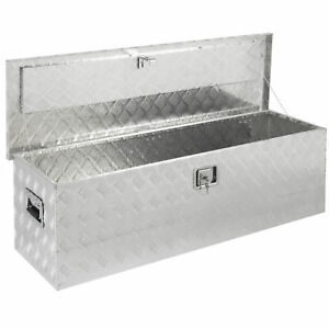 Bcp 49 Aluminum Camper Tool Box W Lock Pickup Truck Bed Atv Trailer Storage