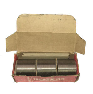 Reed 3 8 24 Unrf Thru feed Thread Roll Die Set