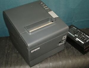Epson Tm t88v M244a Pos Thermal Receipt Printer W Parallel Usb Interface