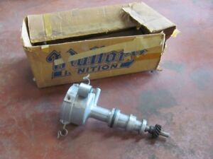 Nos Mallory Ignition Distributor Yc 343 Hp Fe Ford 390 428 Shelby