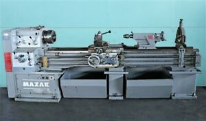 Mazak 18 X 87 Engine Lathe